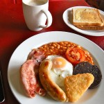 Full Welsh Breakfast | Glan Clwyd Isa B&B | North Wales
