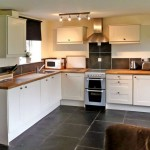 Modern White Farmhouse Kitchen | The Coach House Self Catering
