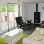 Log Burner Living Space | Llyn Clwyd Self Catering | Glan Clwyd Isa