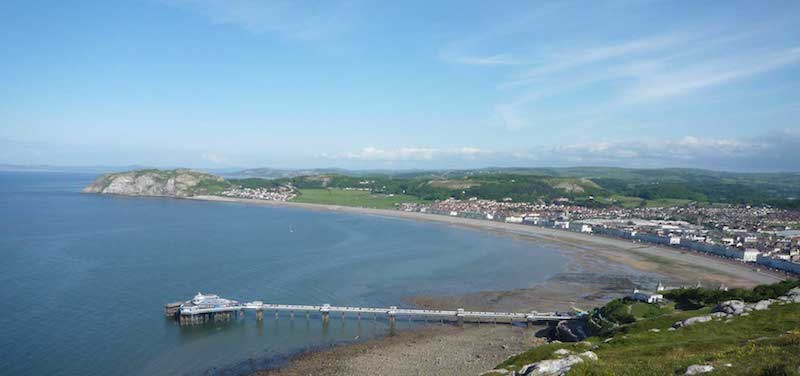 The vintage pier at Llandudno, North Wales | Glan Clwyd Isa