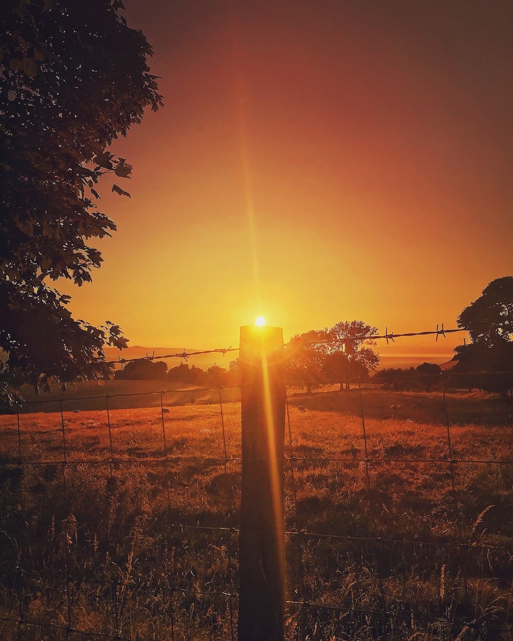 Glan Clwyd Isa | Denbighshire Sunsets 3 | thefrozendivide